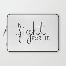 Fight for it Laptop Sleeve