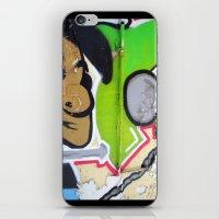 grafitti iPhone & iPod Skins featuring Grafitti Boy by Paulbo