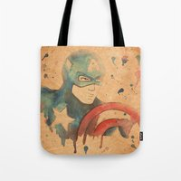 soldier Tote Bags featuring Soldier by Sarah J