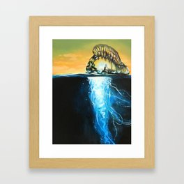 A Floating Poet Framed Art Print