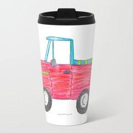 Rad Red Truck Travel Mug