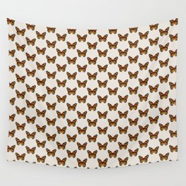 Monarch Butterfly Pattern Wall Tapestry