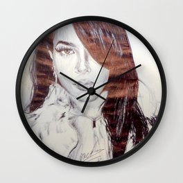 Singer of the Century Wall Clock