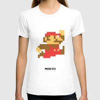 video game T-shirts featuring Lab No.4 -Mario Video Game Quotes,Poster by Lab No. 4