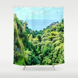 Lush Nature Shower Curtain