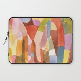 "Paul Klee ""Movement of Vaulted Chambers 1915"" Laptop Sleeve"