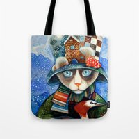 elvis Tote Bags featuring Elvis by oxana zaika