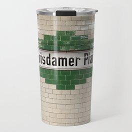 Berlin U-Bahn Memories - Potsdamer Platz Travel Mug