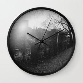 Two Boys in Berlin Wall Clock