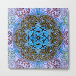 Star Flower of Symmetry 609 Metal Print