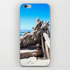 Drift wood Fort iPhone & iPod Skin