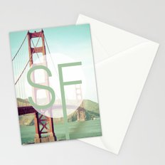San Francisco Love Stationery Cards