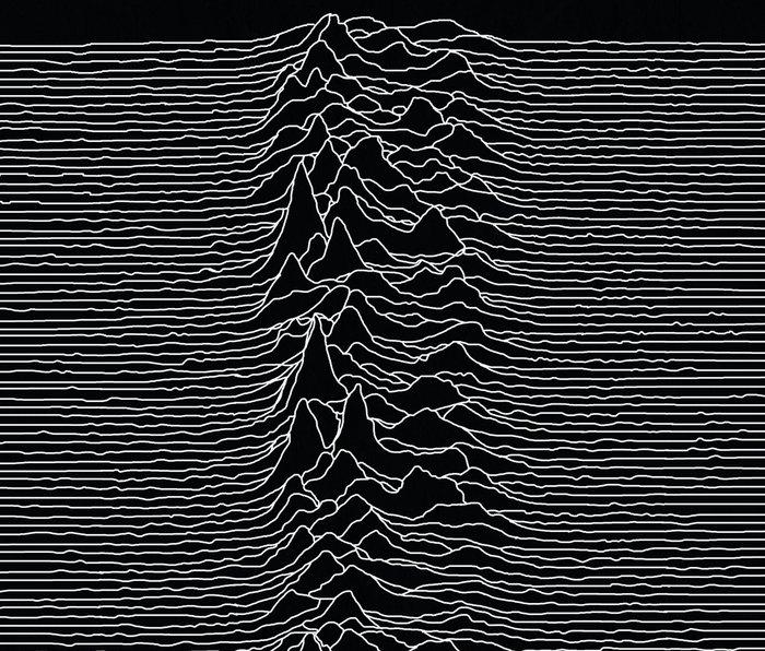 Unknown Radio Waves - Unknown Pleasures Metal Travel Mug