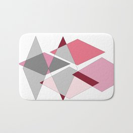Be FREE Pink Diamond Art Bath Mat