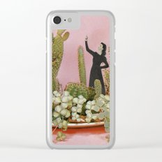 The Wonders of Cactus Island Clear iPhone Case