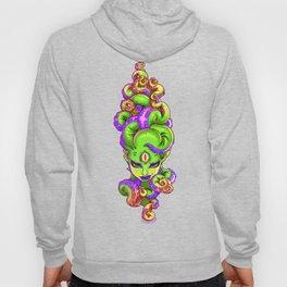 Tentacle Demoness (GREEN version) Hoody