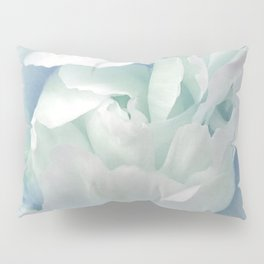 Peony in Blue White Pillow Sham