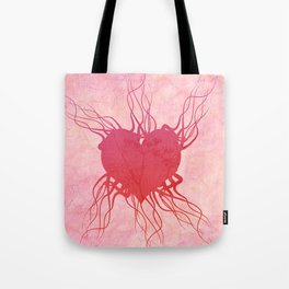 The roots of my heart Tote Bag