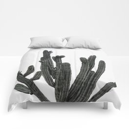 Black and White Cactus Comforters