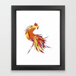 Red Rooster Framed Art Print