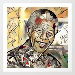 Nelson Mandela Centenary Memorial Picture (Limited Edition) Art Print