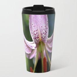 Pink Martagon Lily 'Moonyeen' Travel Mug
