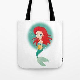 Sweet Mermaid Tote Bag