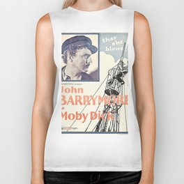 Vintage poster - Moby Dick Biker Tank