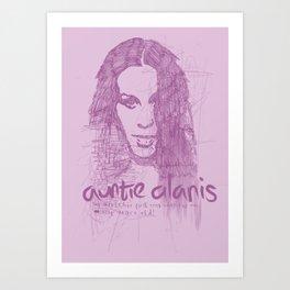 Auntie Alanis Art Print