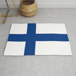 Flag of Finland Finnish Flag Rug