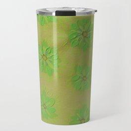 Olive Petal Rose Travel Mug