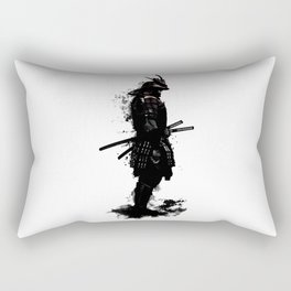 Armored Samurai Rectangular Pillow