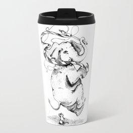 Hop. Skip. Jump.  - Inktober #10 Travel Mug