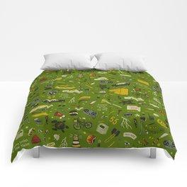 Moonrise Kingdom Plot Pattern Comforters