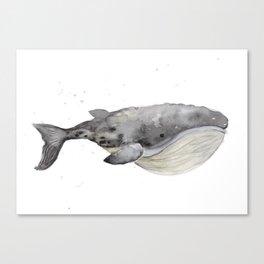 Whale 1 Canvas Print