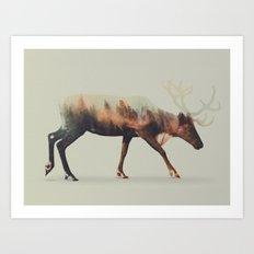 Norwegian Woods: The Reindeer Art Print