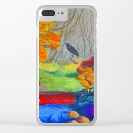 Day Dreaming Clear iPhone Case