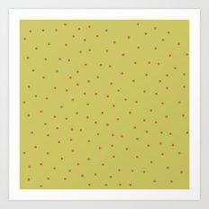 Pistachio  Art Print