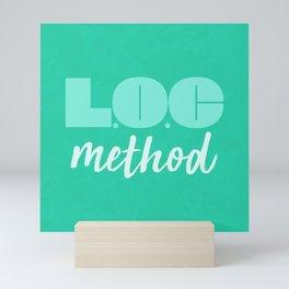 LOC Method [Green] Mini Art Print