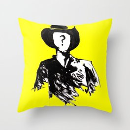 The unknown knows Throw Pillow