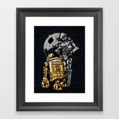 Daft Droids Framed Art Print