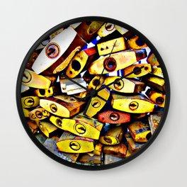 promise padlock Wall Clock
