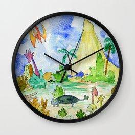 Dinotopia Wall Clock