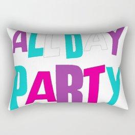 PARTY ALL NIGHT T-SHIRT Rectangular Pillow