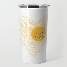 You are the Sunshine of my heart Travel Mug