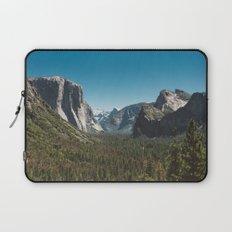 Tunnel View, Yosemite National Park V Laptop Sleeve