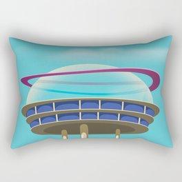 Sci-Fi building Rectangular Pillow