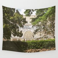 florence Wall Tapestries featuring Botanical Garden - Florence by FranArt