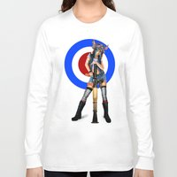 tank girl Long Sleeve T-shirts featuring Tank Girl by Valérie Loetscher (Vay)