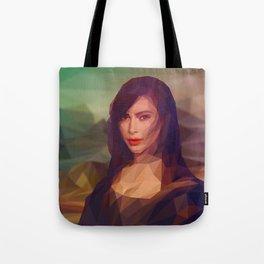La Gioconda / Kim Kardashian / Mona Lisa Tote Bag